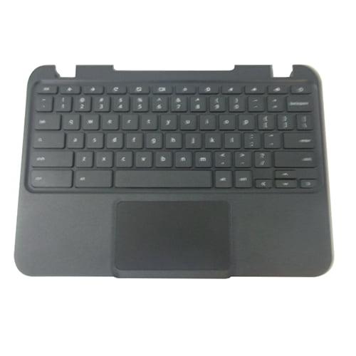 Lenovo Chromebook N21 Laptop Black Upper Case Palmrest, Keyboard & Touchpad