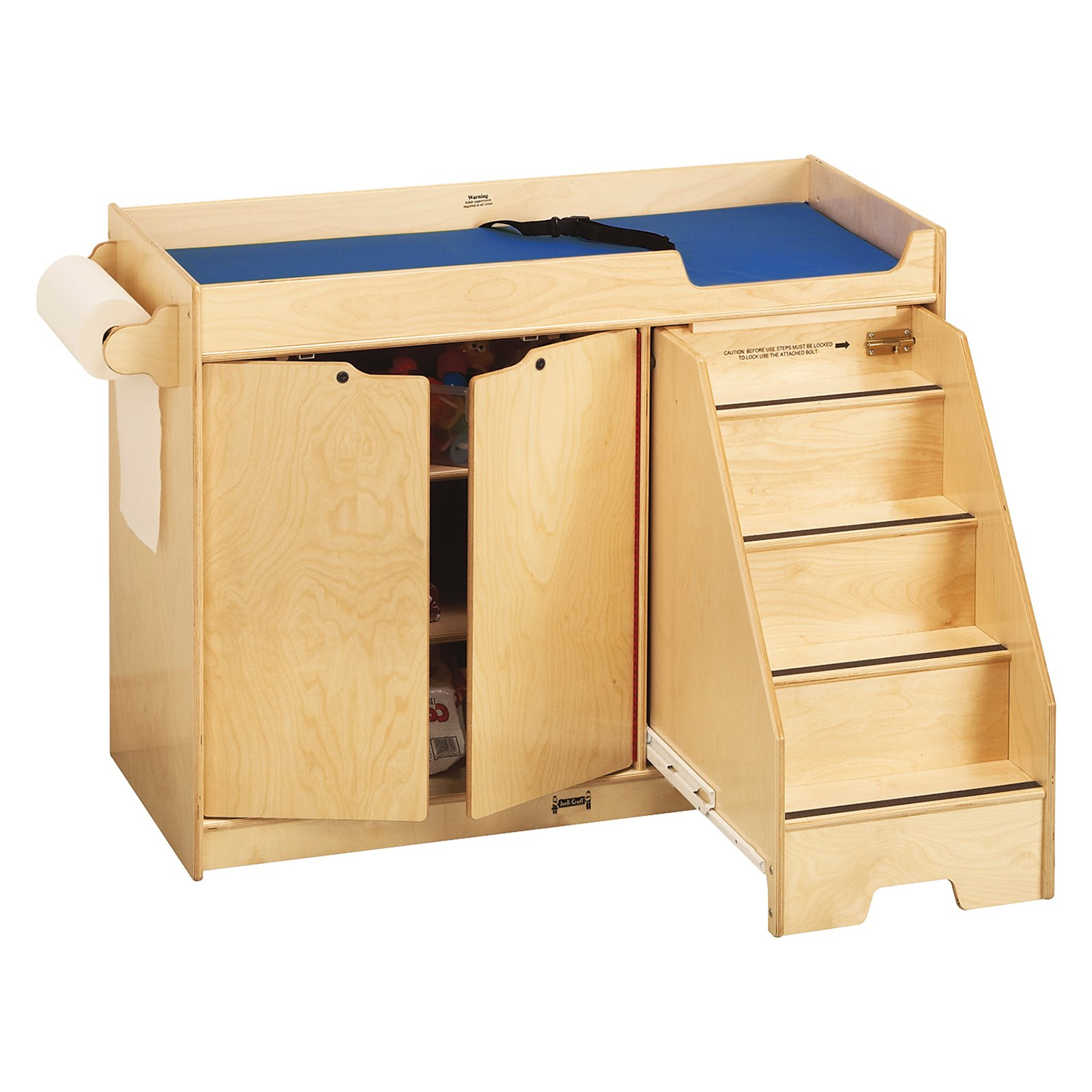 Jonti-Craft Changing Table with Stairs by Jonti-Craft