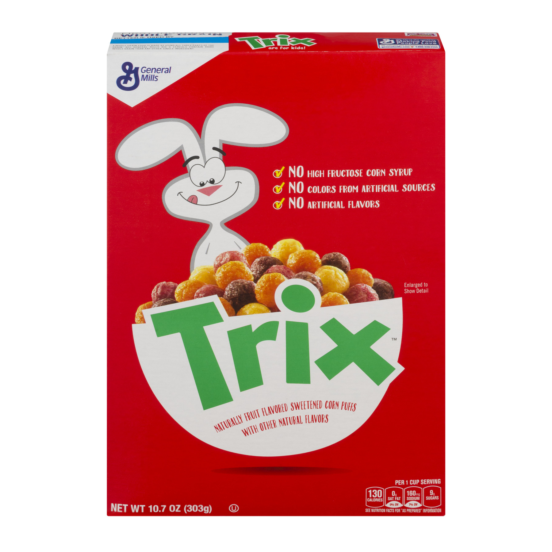 Trix Cereal Swirls 10.7 oz Box