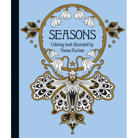Seasons Coloring Book : Published in Sweden as