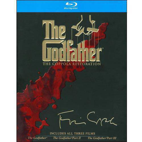 GODFATHER COLLECTION-COPPOLA EDITION (BLU-RAY/4 DISCS)