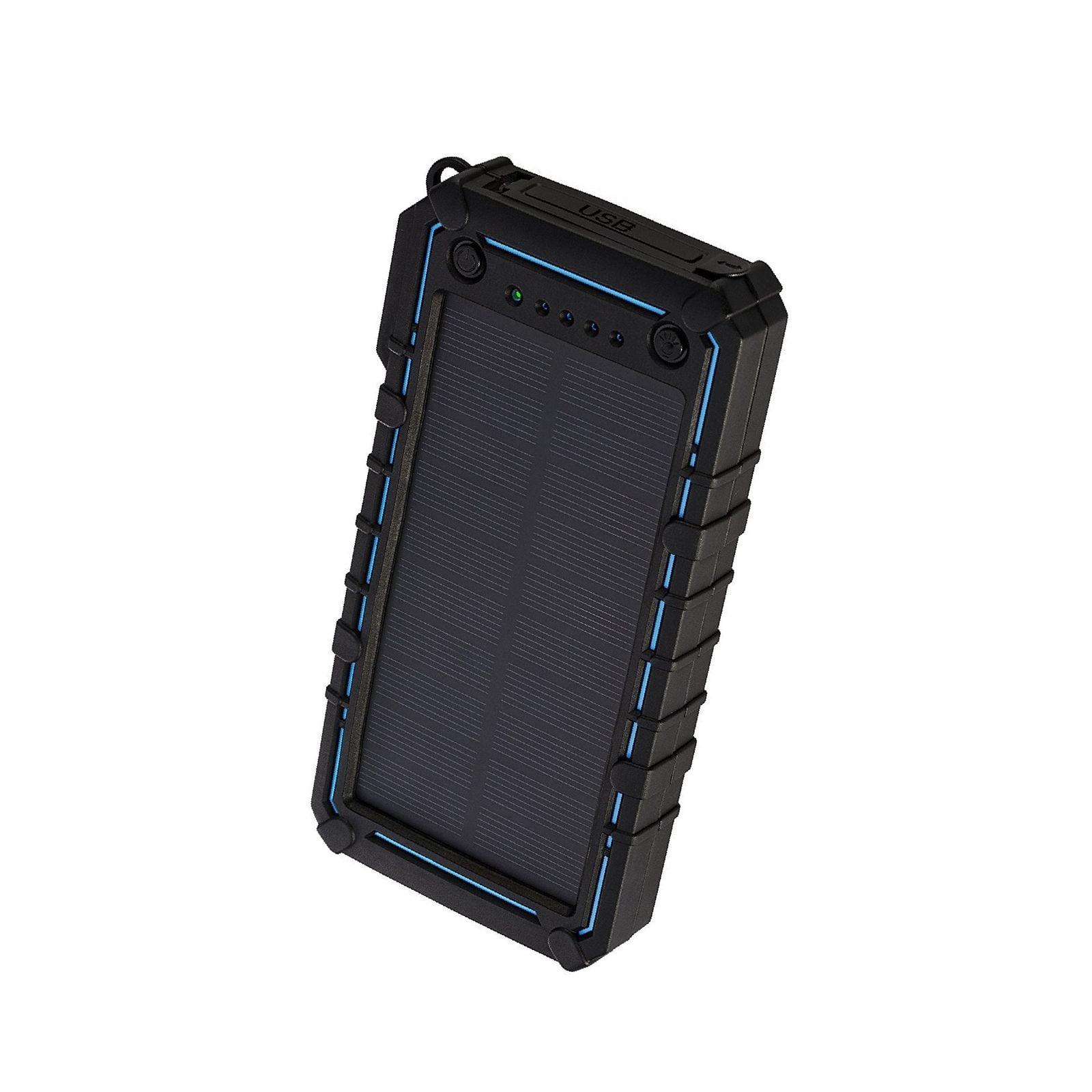 JETSUN Solar Charger 16750mAh Portable Solar Power Bank with Waterproof  Solar