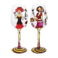 Gift Essentials 15 oz. Chocolate and Wine Glass