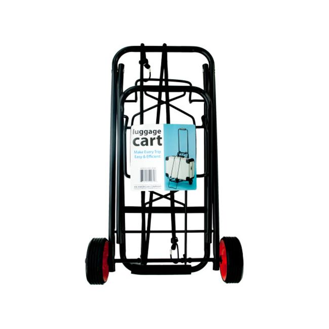 Bulk Buys OC643-2 Portable Folding Luggage Cart