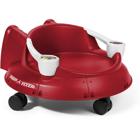 Radio Flyer Spin 'N' Saucer Caster Ride-on for Kids Now $19.97 (Was $27.99)