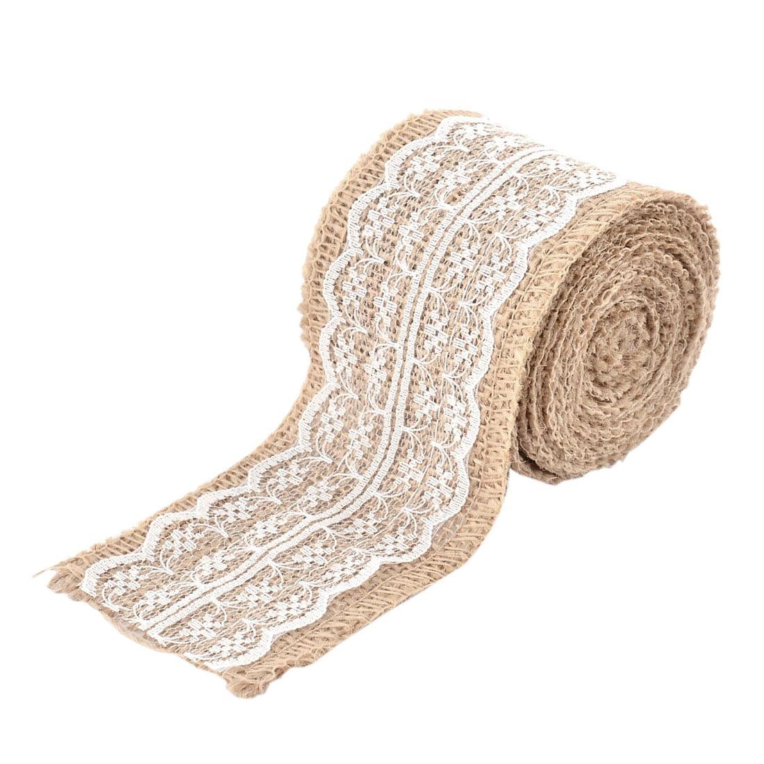 Room Festival Linen Diy Gift Decor Decoration Craft Burlap Ribbon