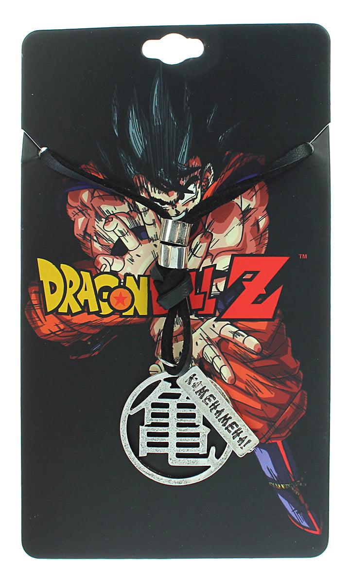 Dragon Ball Z Anime Master Roshi Kanji Symbol Pendant Leather Cord