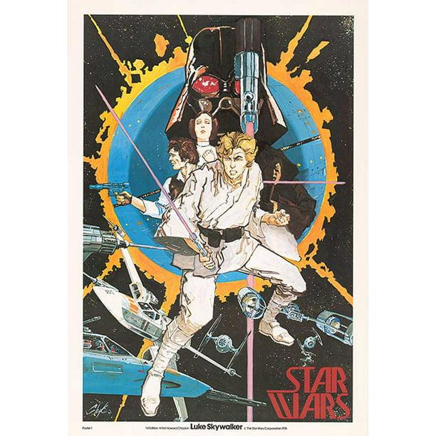 Star Wars Episode Iv A New Hope Movie Poster Print 1st Edition Poster Howard Chaykin Poster Poster Strip Set Walmart Com Walmart Com