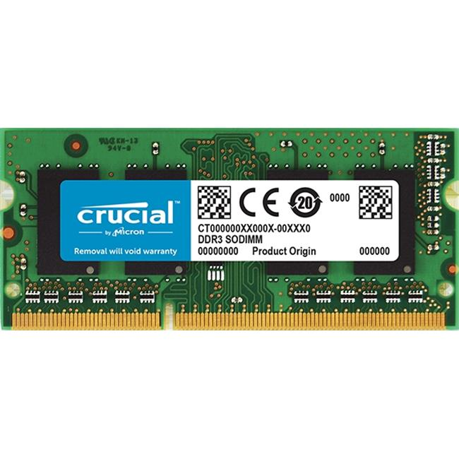 Crucial CT25664BF160B.C8FED2 2GB DDR3L-1600 SODIMM 2 GB Laptop Memory