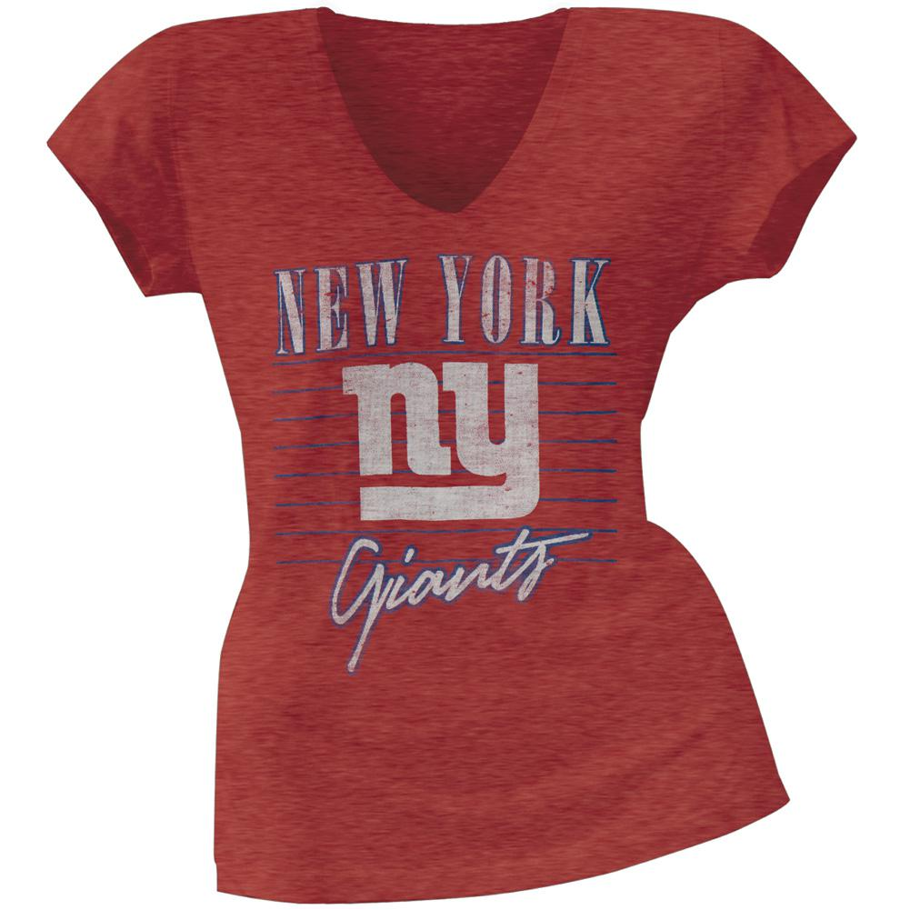 New York Giants - Scrum Logo Premium Juniors T-Shirt