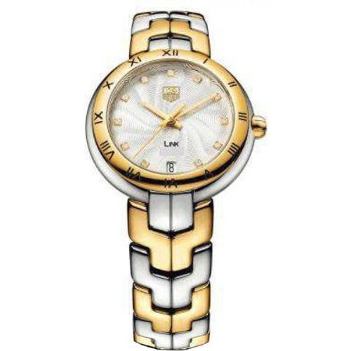 Tag Heuer Link Two-tone Diamond Ladies Watch WAT1352.BB0962
