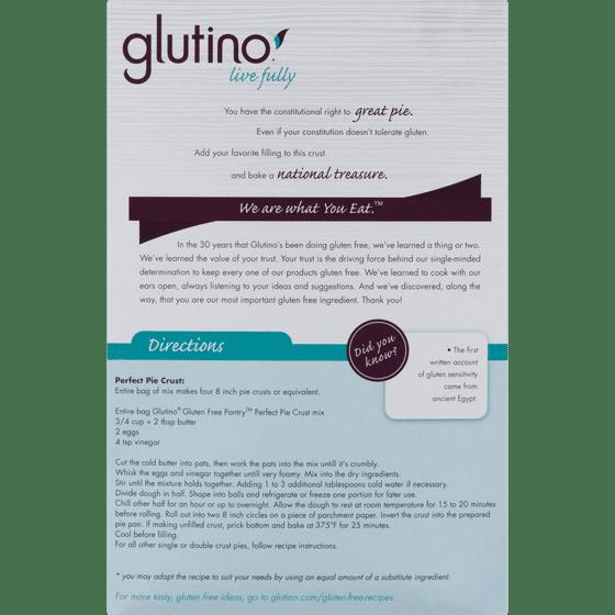 Glutino, perfect pie crust, 16 oz (454 g) iherb. Com.