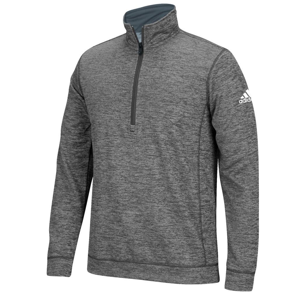 adidas 1/4 zip fleece navy