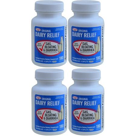 Original Caplets - Lactase Enzyme 720 Caplets Generic Lactaid Original Strength