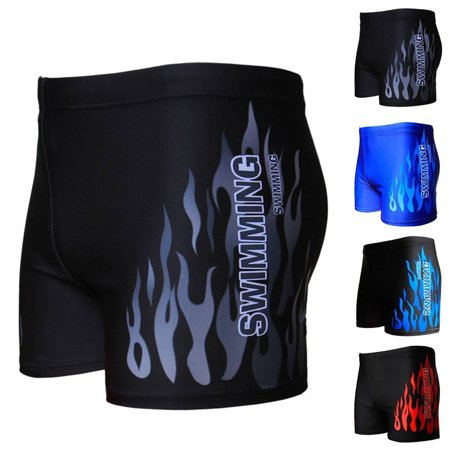 Men's Boxer Briefs Swimming Swim Shorts Trunks Swimwear Beach Pants Underwear - image 6 of 6