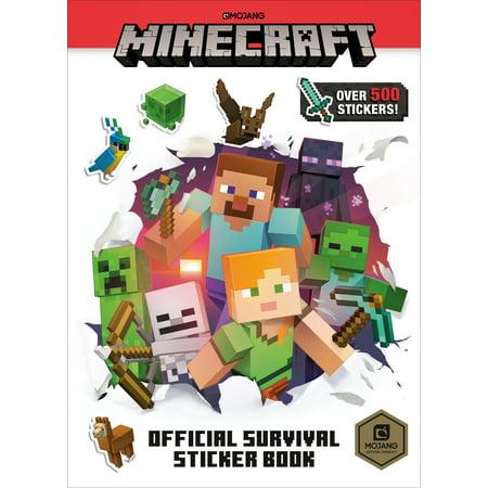 Minecraft Official Survival Sticker Book (Best Way To Start Minecraft Survival)