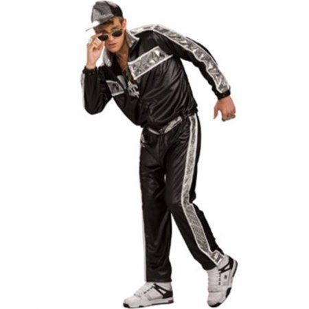 Rap Idol Adult Halloween Costume - Sparkly Microphone