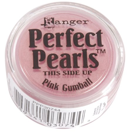 Perfect Pearls Pigment Powder .25oz-Pink Gumball (Pink Gum Balls)