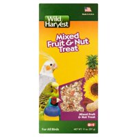 Wild Harvest Mixed Fruit and Nut Treat for Birds, 11 oz