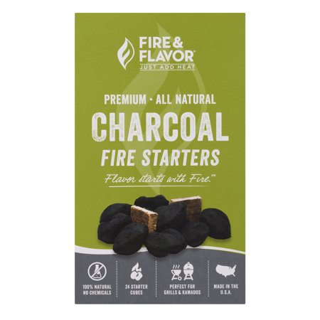 Fire & Flavor Charcoal Fire Starters, 1.0 CT