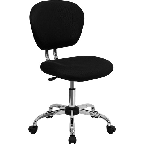 Flash Furniture MidBack Mesh Armless Task Chair Walmartcom