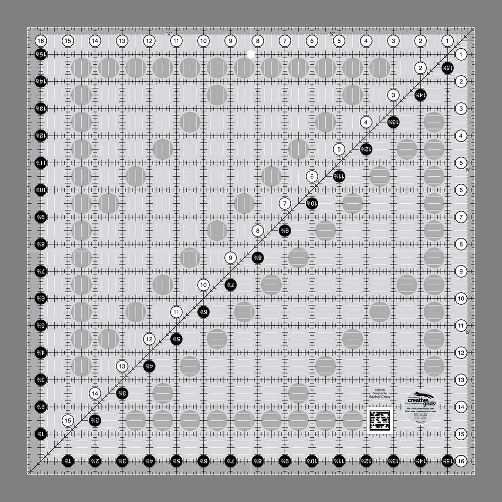 "Creative Grids 16 1/2"" Square Ruler"
