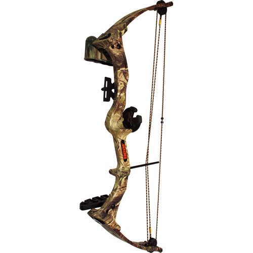 Bear Archery Brave III0 Bow Set APG with Biscuit, Camouflage