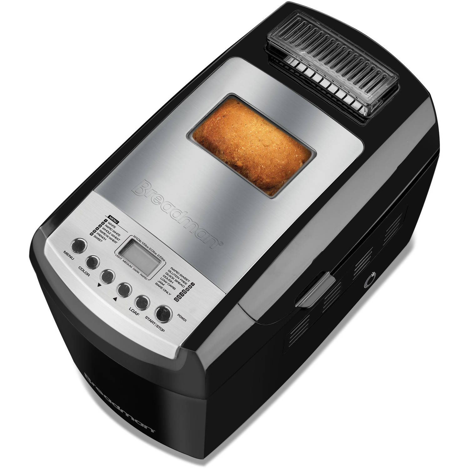 Breadman Bread Maker, Black