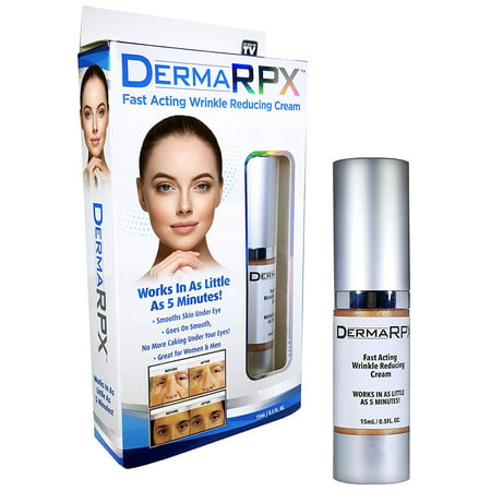 Derma RPX - 5 Minute Anti Aging Cream, Wrinkle and Fine Lines Remover, Eye Bags Reducer - Starts To Remove Wrinkles in 90 Seconds! As Seen on TV!