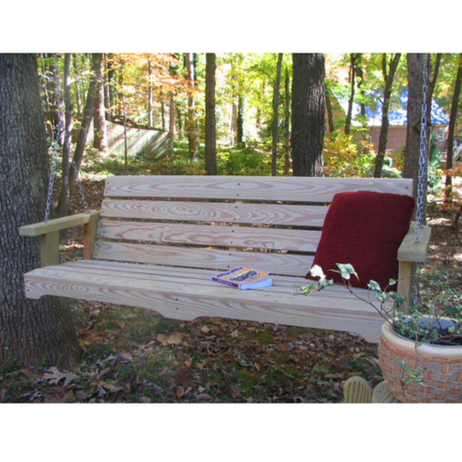 Weathercraft Designers Choice Classic Pine Porch Swing Natural by Weathercraft Outdoor Furniture Inc