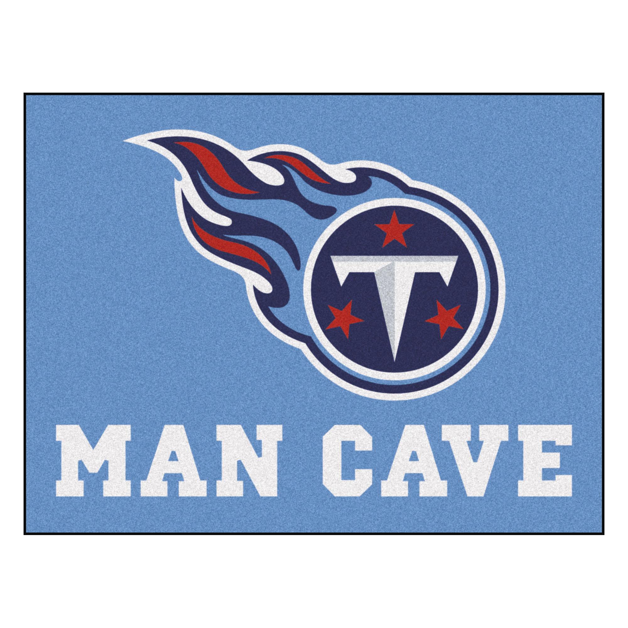 """NFL - Tennessee Titans Man Cave All-Star Mat 33.75""""x42.5"""""""