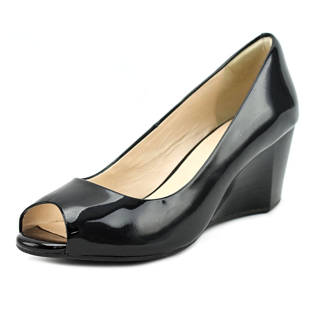 Cole Haan Sadie OT Wedge   Open Toe Patent Leather  Wedge...