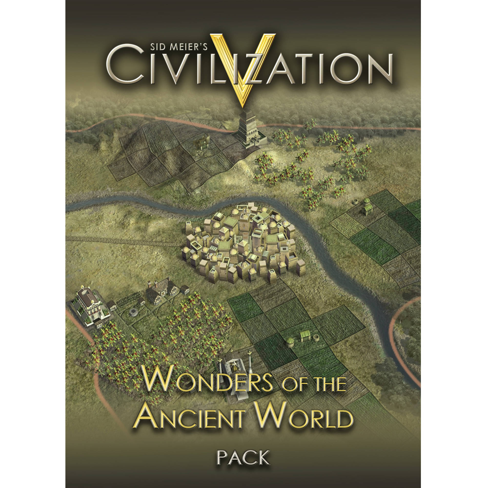 Sid Meier's Civilization V Wonders of the Ancient World Pack (PC) (Digital Download)