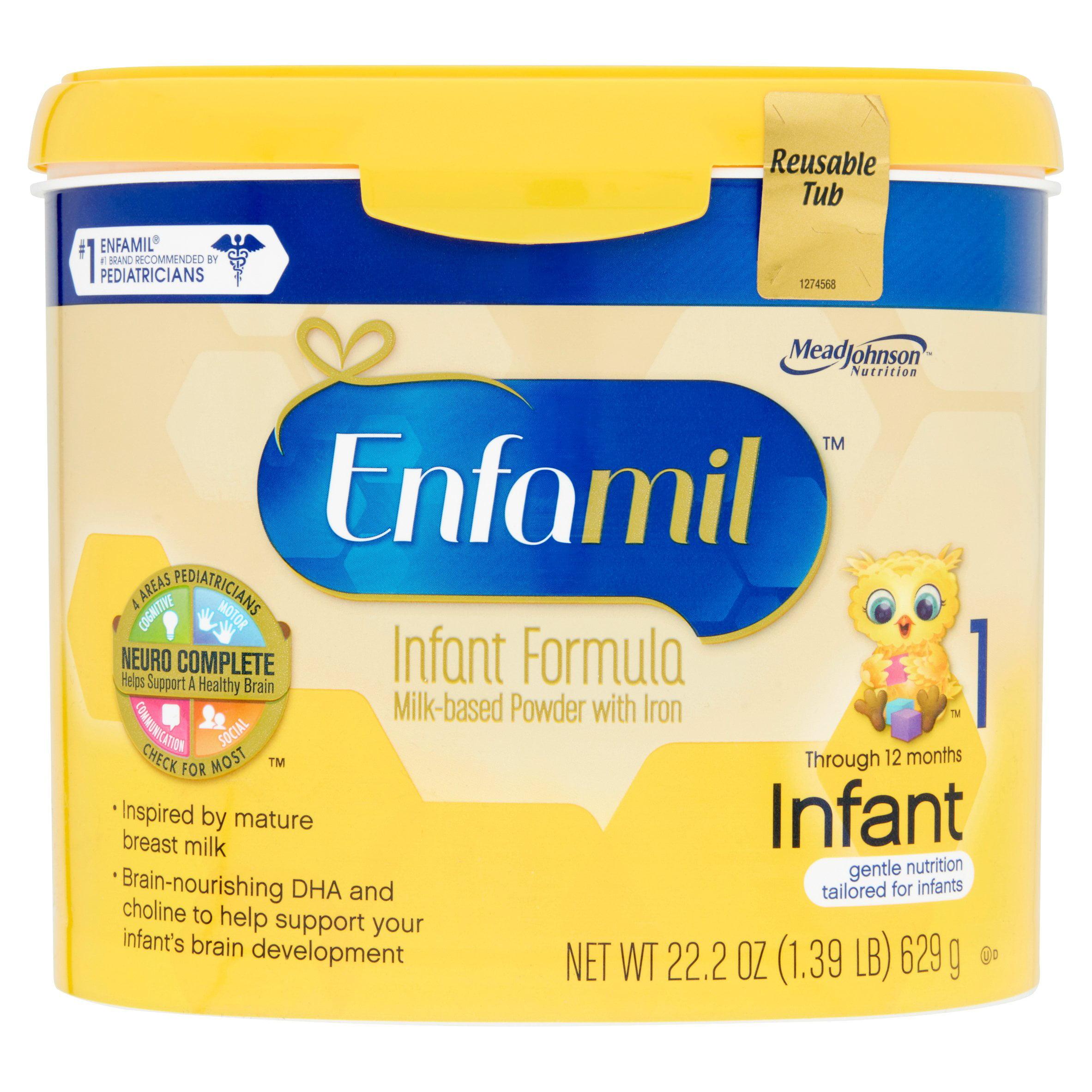 Enfamil PREMIUM Infant Formula, Powder 22.2 Ounce Tub, 6 Count by Enfamil