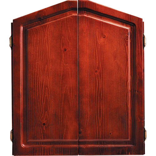 Accudart Union Jack Solid Wood Dartboard Cabinet Set by Escalade Sports