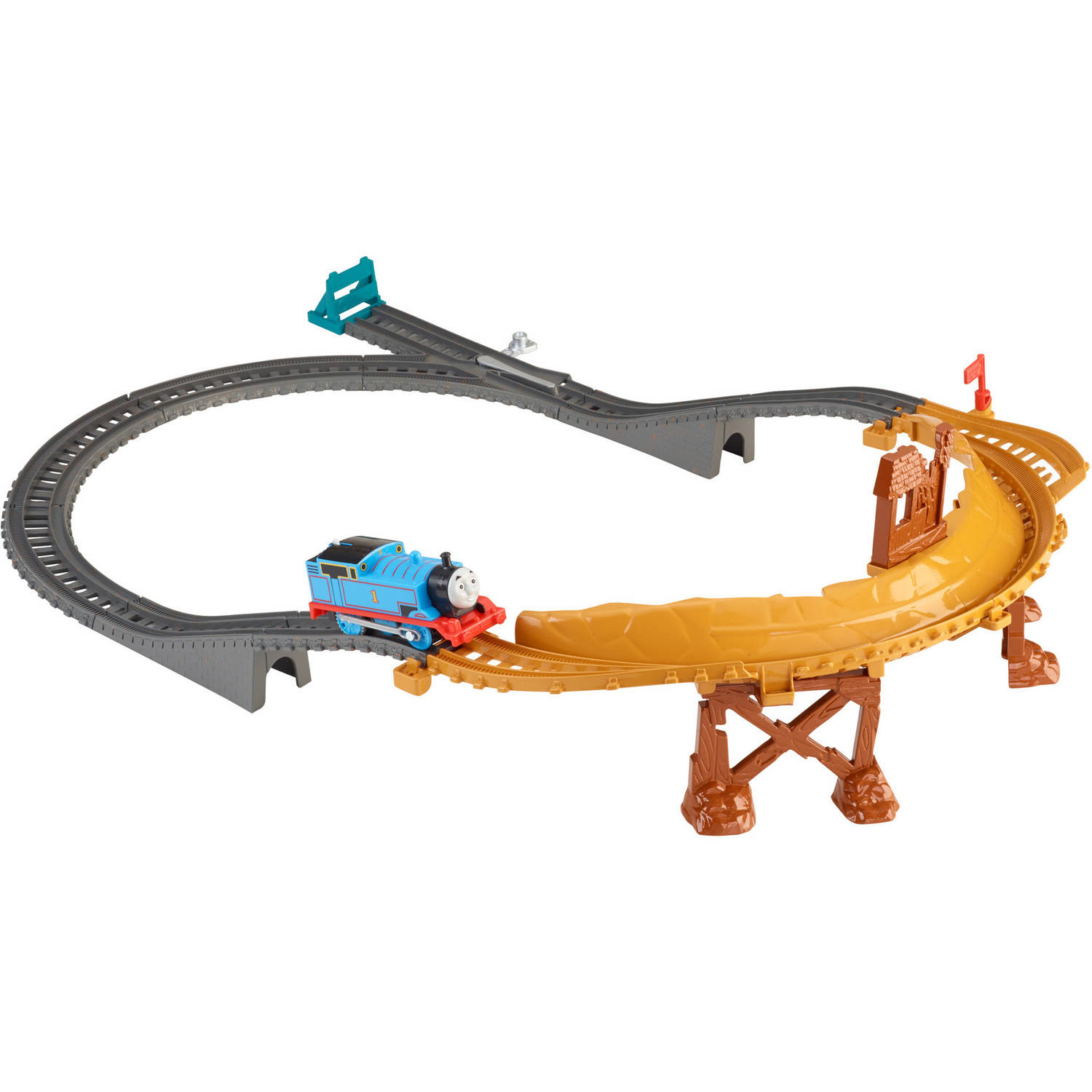 Fisher-Price Thomas and Friends Trackmaster Breakaway Bridge Set