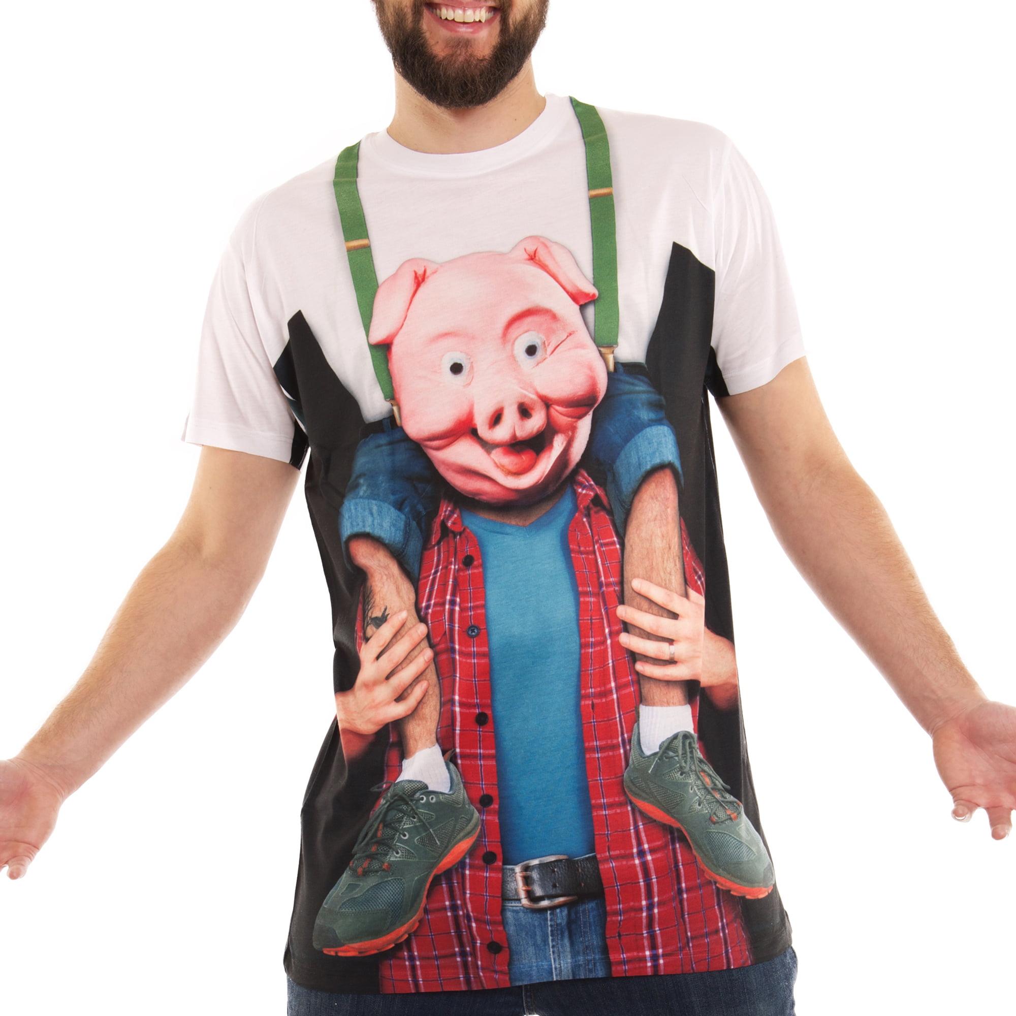 Piggy Back Ride Men's Short Sleeve Tee Shirt
