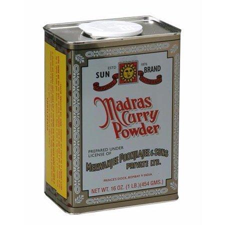 Madras Curry Powder (SunBrand) 16oz (454g)