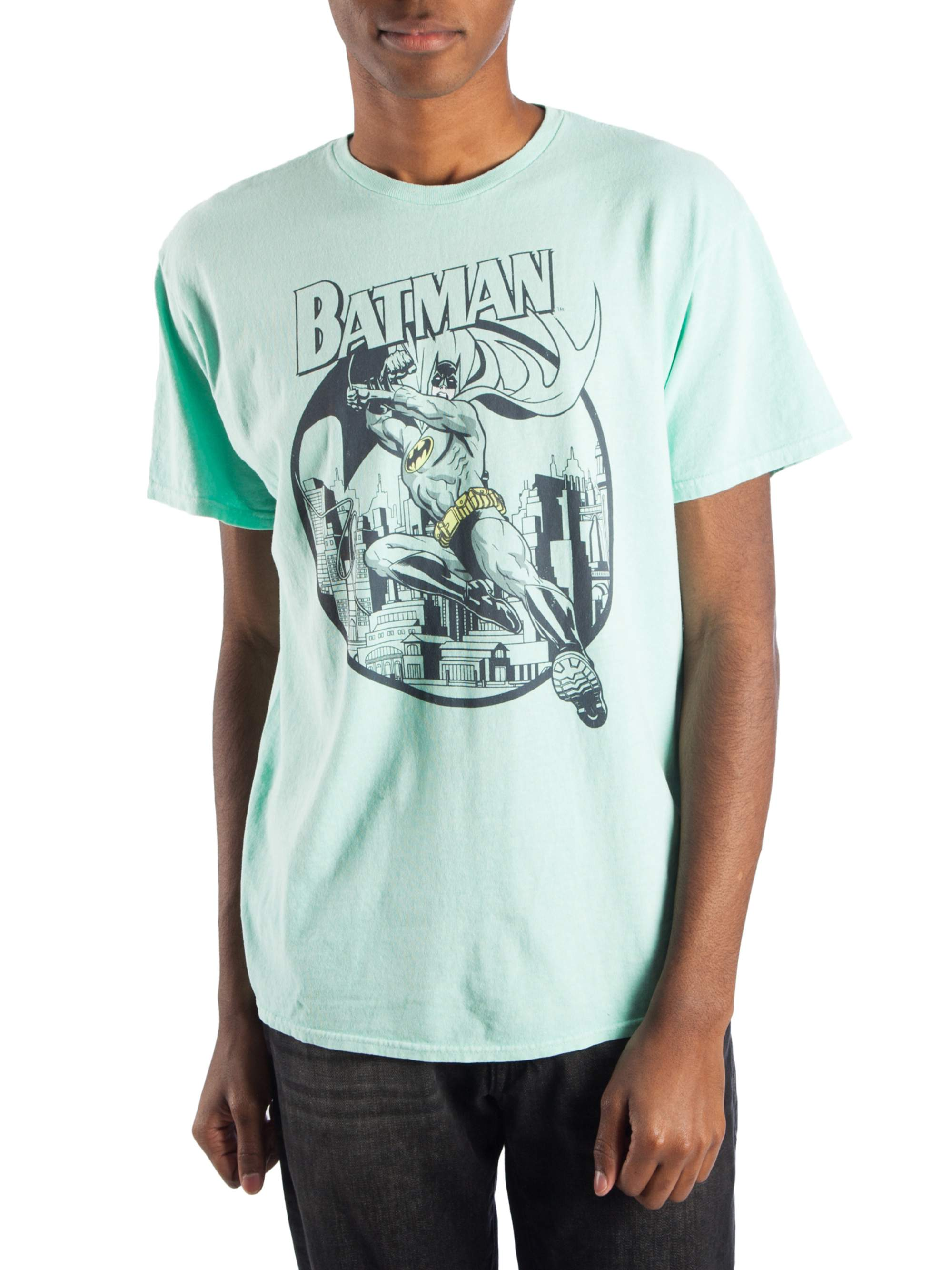 Batman Men's Vintage Graphic T-Shirt