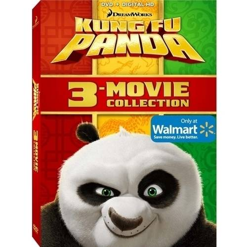 Kung Fu Panda 1-3 (DVD + Digital Copy) (With INSTAWATCH)
