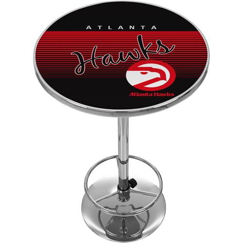 Atlanta Hawks Hardwood Classics NBA Chrome Pub Table