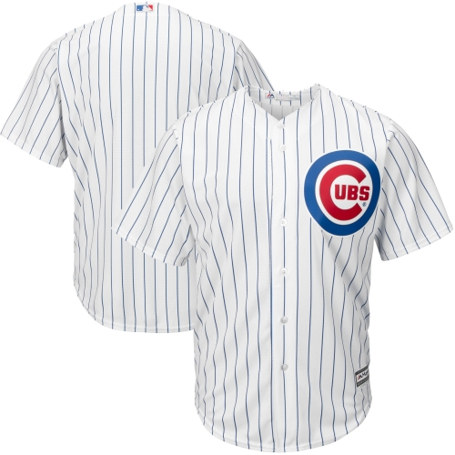 Chicago Cubs Majestic Big & Tall Cool Base Team Jersey - White