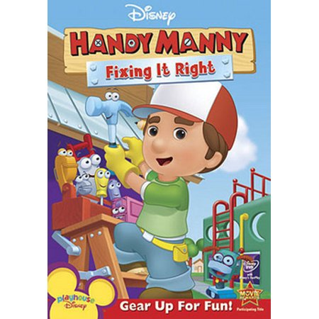 Playhouse Disney Handy Manny - Handy Manny: Fixing It Right (DVD)