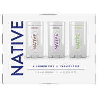 Native Deodorant Sample Pack