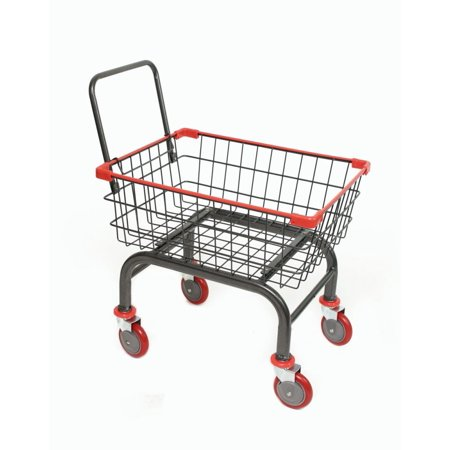 - House & Commercial Heavy Duty Rolling Cart (GRAY-RED)