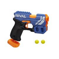 Nerf Rival Knockout XX-100 Blaster -- Round Storage, 90 FPS -- Includes 2 Official Nerf Rival Rounds -- Team Blue
