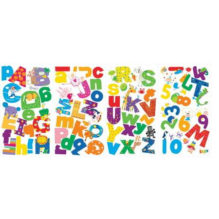 Lazoo Alphabet Peel & Stick Wall Decals