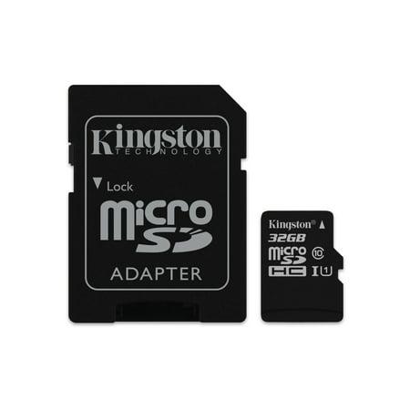 Kingston 32 GB microSDHC Class 10 Flash Memory Card SDCS