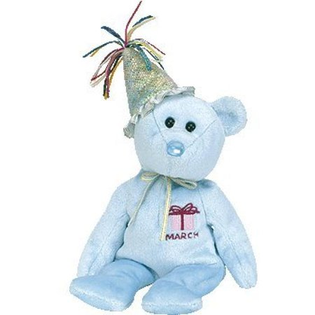 TY Beanie Babies - March the Teddy Birthday Bear](Baby Teddy Bear Suit)
