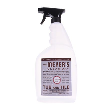 Mrs. Meyer's Clean Day Tub & Tile Cleaner Spray, Lavender, 33